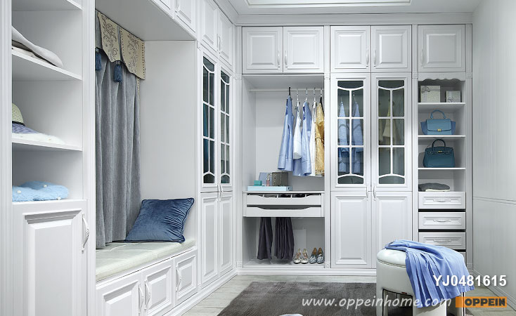 Classical L-Shaped Walk-in Closet YJ0481615- OPPEIN | The Largest .