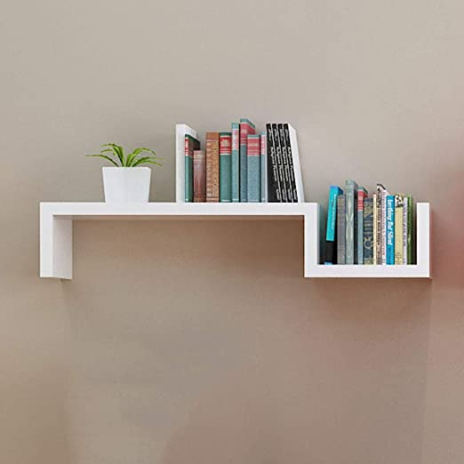 Amazon.com: NJLC Floating Book Shelf, Floating Wall Shelves Book .