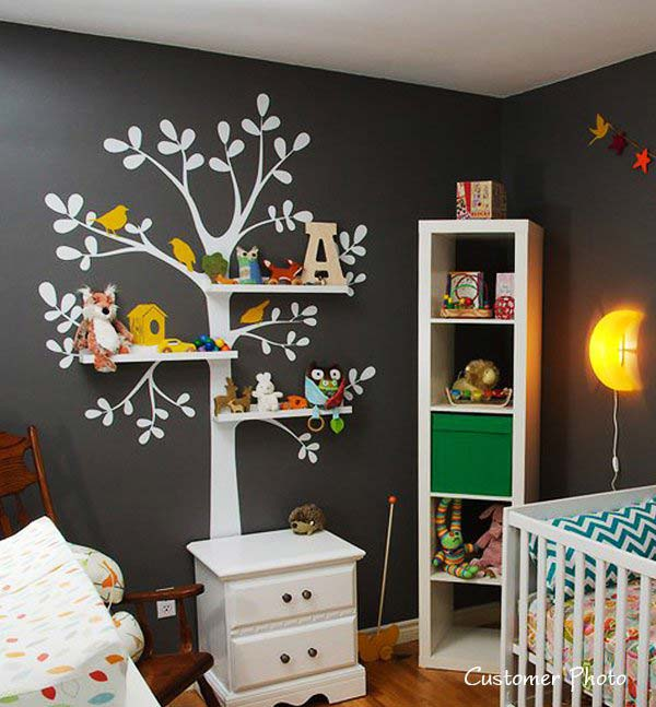 30 Fantastic Wall Tree Decorating Ideas That Will Inspire You .