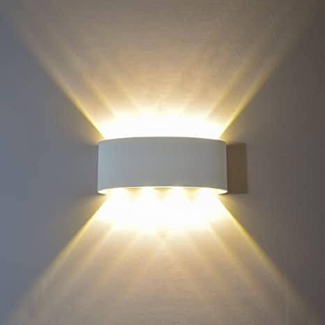 GGIENRUI Modern Wall Sconce Lights 8W LED Room Wall Lights Up Down .