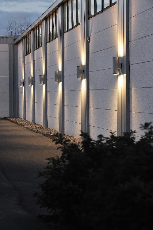 Cylinder G12 HIT Commercial Up Down Wall Light in 2020 | Outdoor .