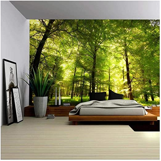 wall26 - Crowded Forest Mural - Wall Mural, Removable Sticker .
