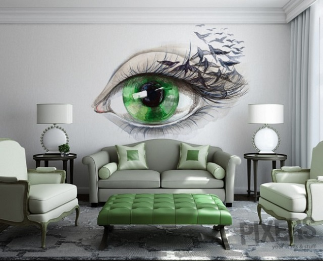 Phantasmagories Wall Murals by PIXERS - AllDayCh