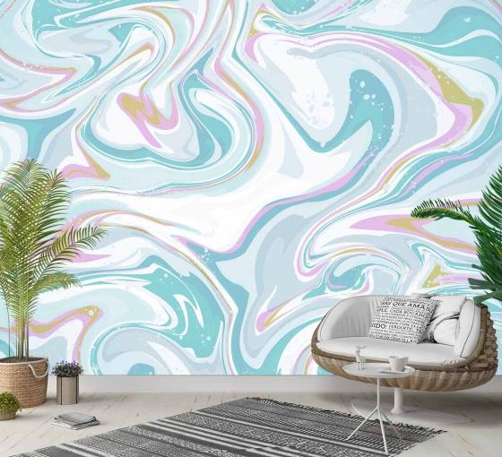 Custom Wall Mural Decals | Adhesive Wall Art | Buy Wallpaper Mura