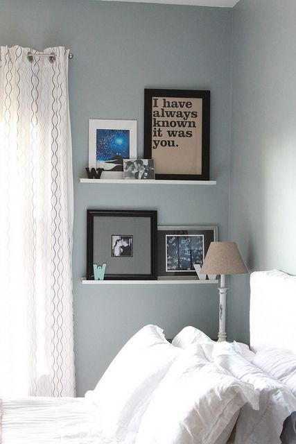 Wall Shelves in Bedroom | Shelves in bedroom, Bedroom decor .