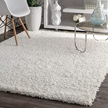 Amazon.com: nuLOOM Cozy Soft and Plush Diamond Solid Shag Area Rug .