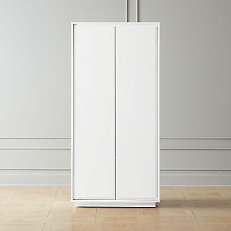 Gallery White 2-Door Wardrobe + Reviews | C