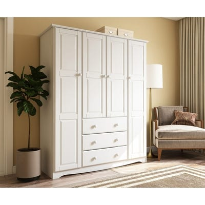Buy White Armoires & Wardrobe Closets Online at Overstock | Our .