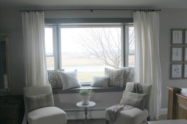 Master Bedroom: Details (Part 2) | Bay window living room, Living .