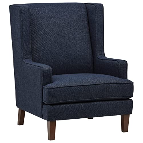Blue Wingback Chair: Amazon.c