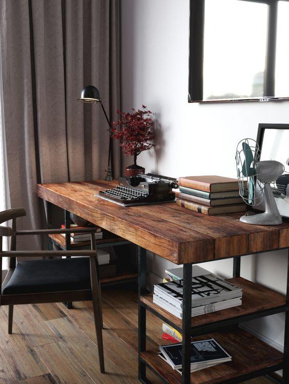 Reclaimed Wood Desks - The Bridge Between Past And Present In Your .