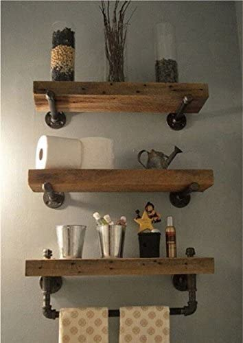Amazon.com: WGX Design For You Industrial Pipe Shelving Shelves .