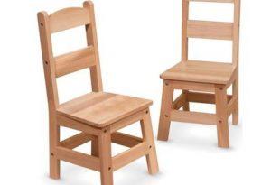 Melissa & Doug Kids Wooden Chair Pair, Multiple Colors - Walmart .