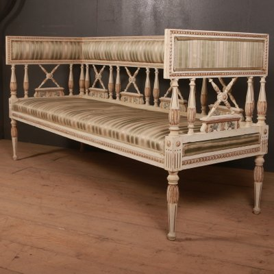 Antique Wooden Sofa Bench, 1880s for sale at Pamo