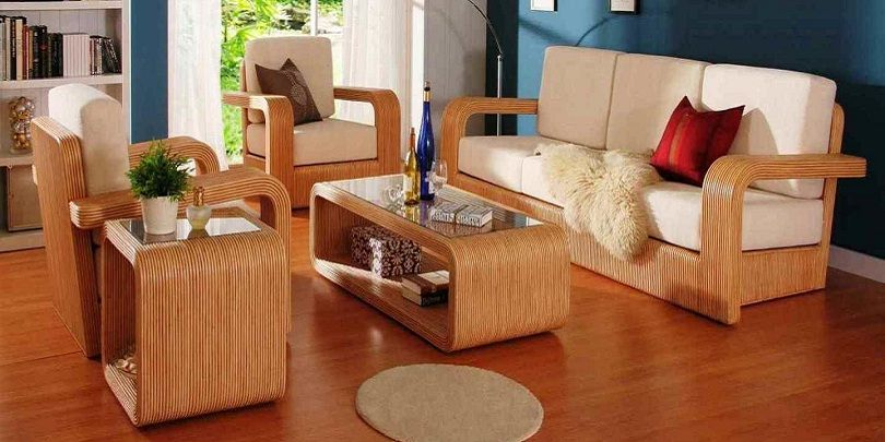 Beautiful Wooden Sofa Set #sofa #sofaideas #furniture .